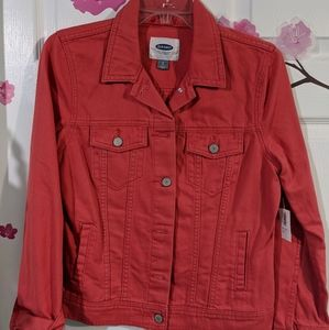 Coral Old Navy Jean jackets size S